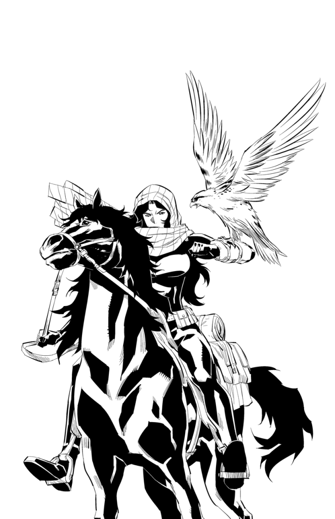 Kingdom of Assassins MANGA01_CVR BW